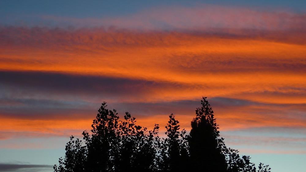 ushuaia coucher de soleil
