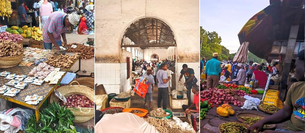 marché de Darajani stone town zanzibar