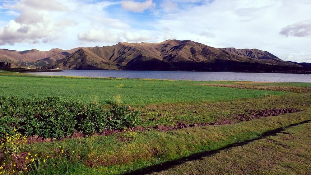 Lac Chinchero au Pérou