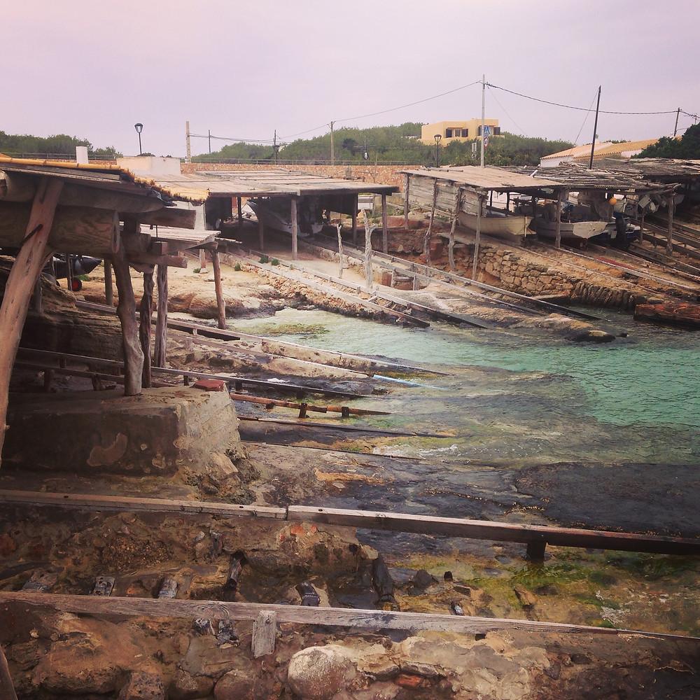 ports de pêche de formentera