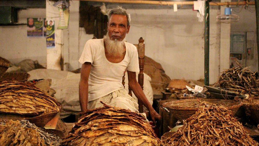 marché aux poissons Srimangal Bangladesh