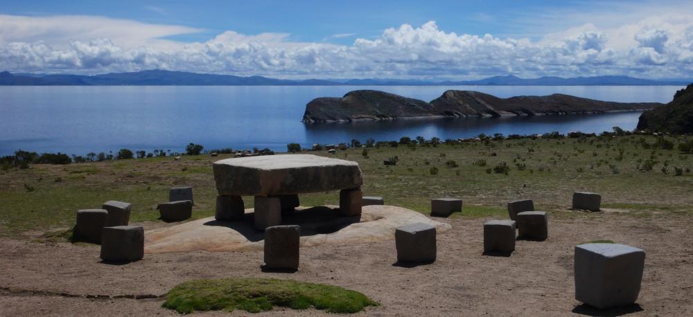 ile du soleil bolivie ruines incas