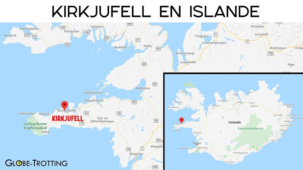 Carte Kirkjufell