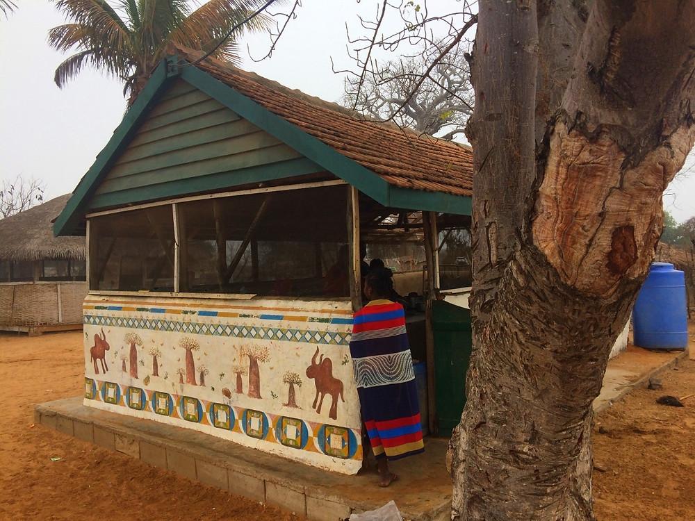 cuisine du centre d'hébergement de Tsaravahiny de Mangily