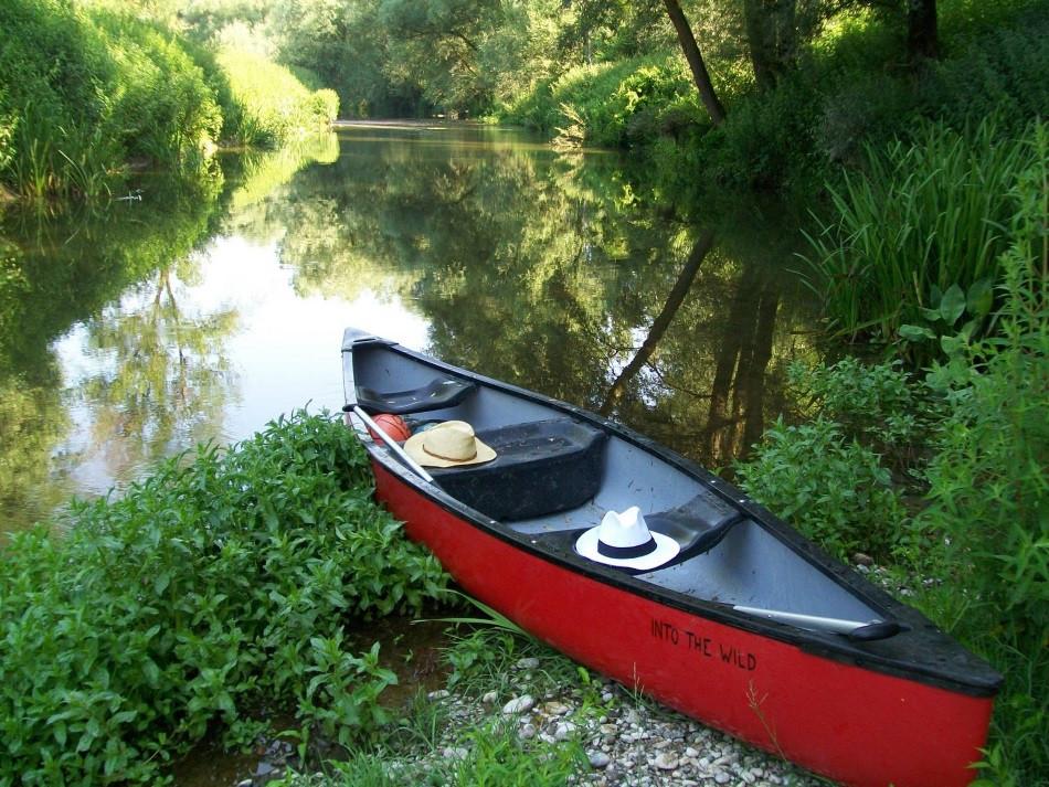 lac matese kayak italie