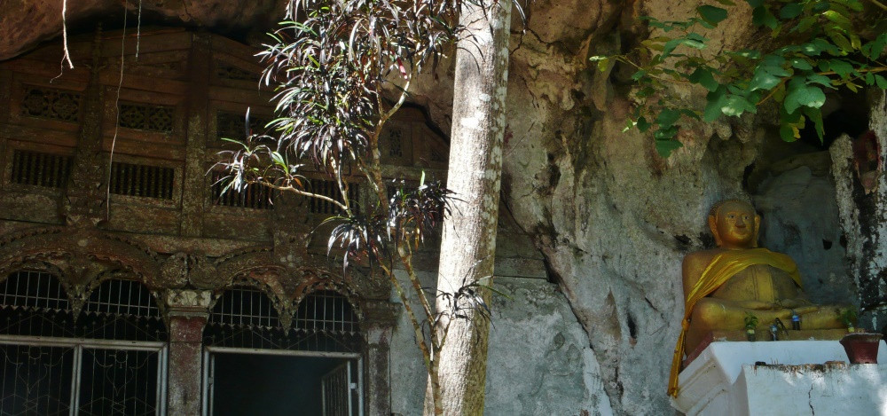 Bouddha Les Grottes Pak Ou Luang Prabang