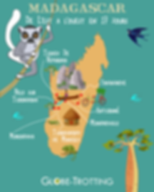 MADAGASCAR voyager seule
