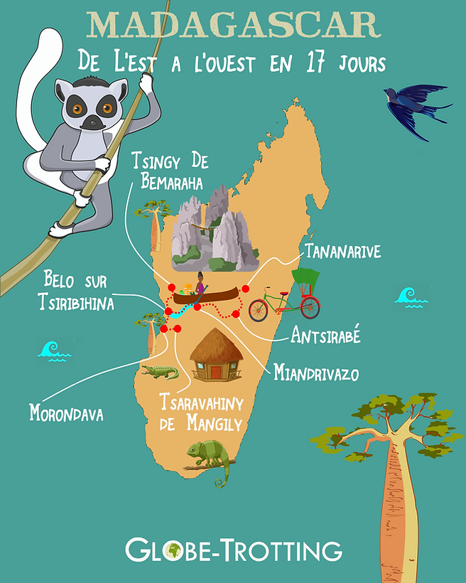 voyage itineraire seule madagascar