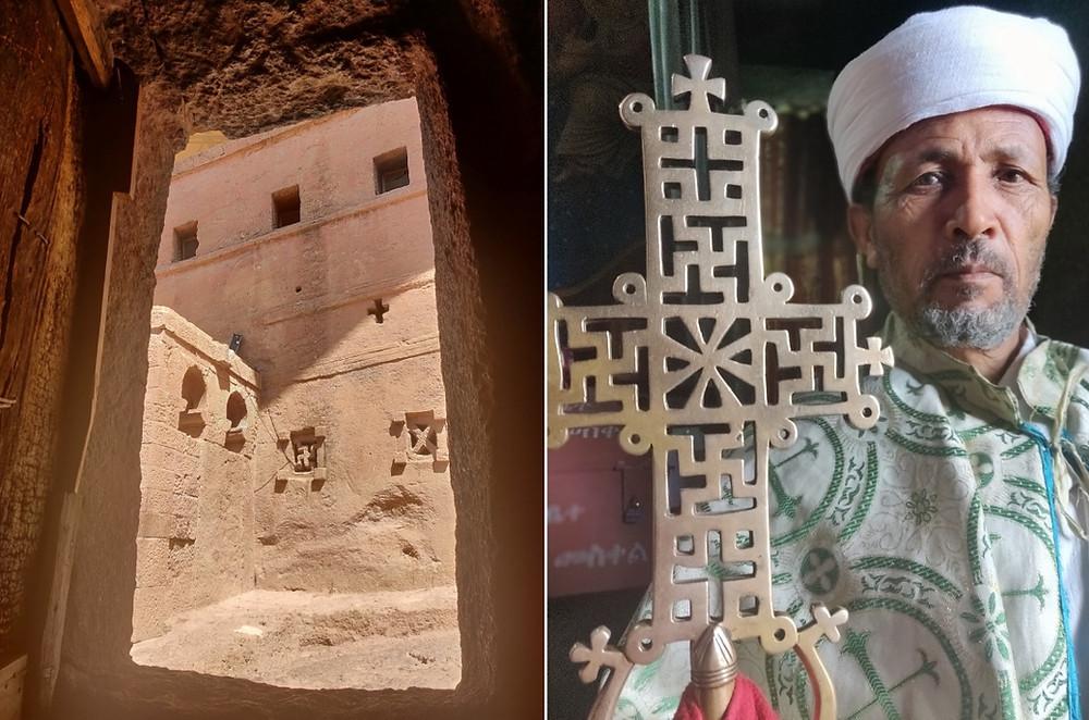 croix lalibela ethiopie