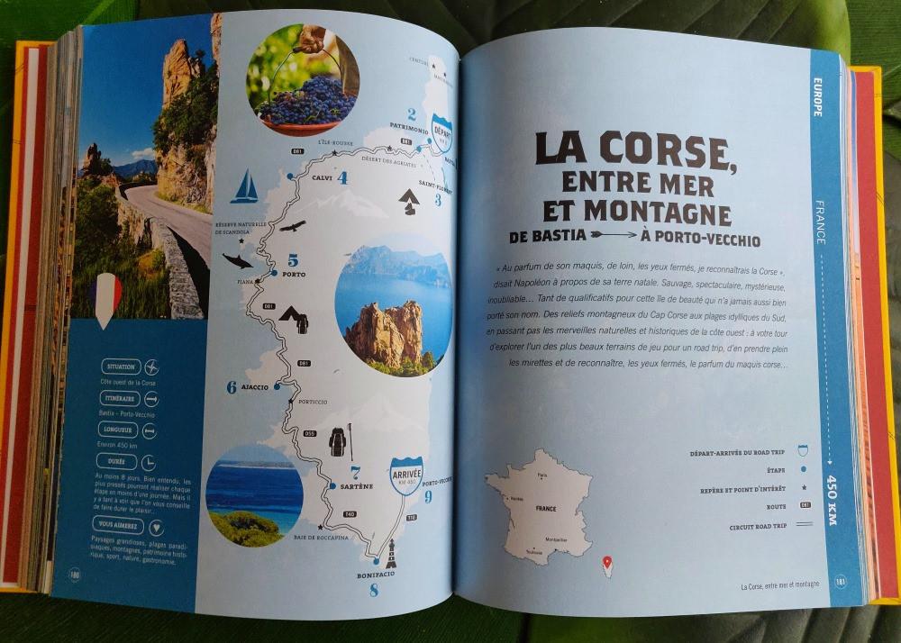 Livre Road Trips Corse