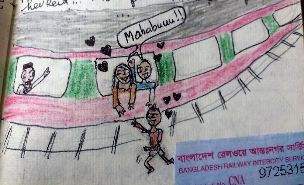 adieux orphelin voyage bangladesh