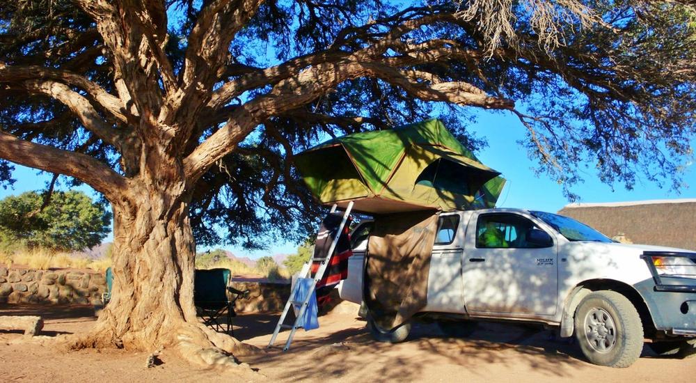 campement sesriem roof tent