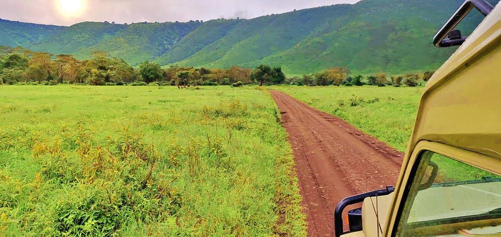 Route Ngorongoro