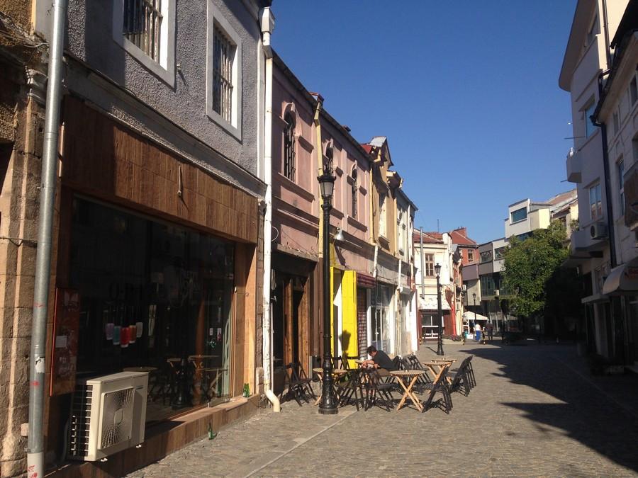 Plovdiv Cafés vieille ville