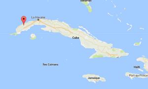 Mogotes cuba map