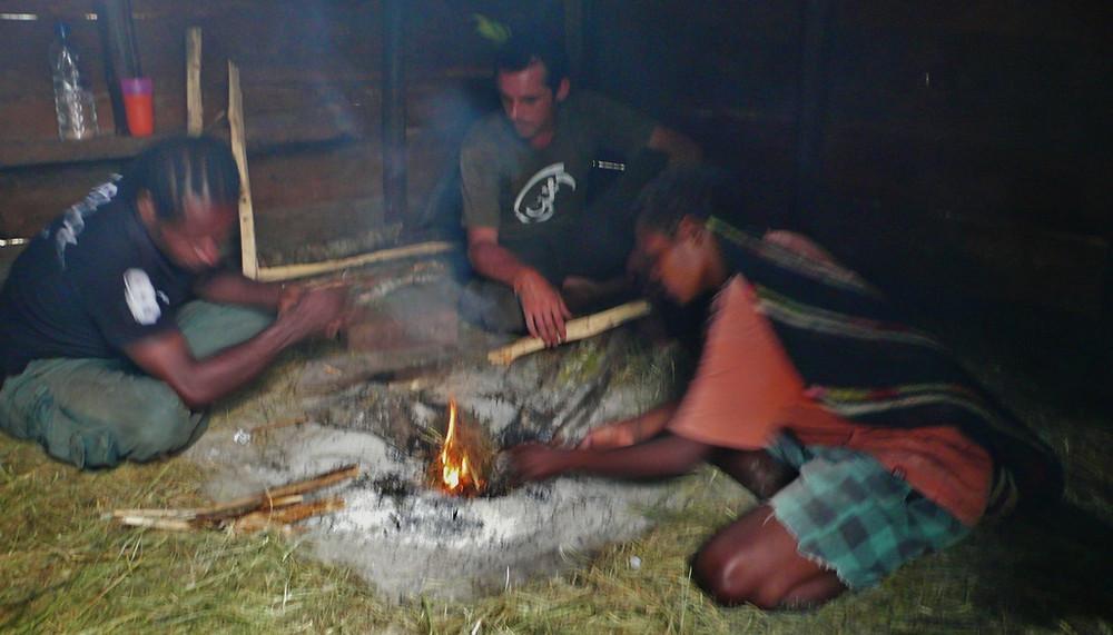 papous village baliem