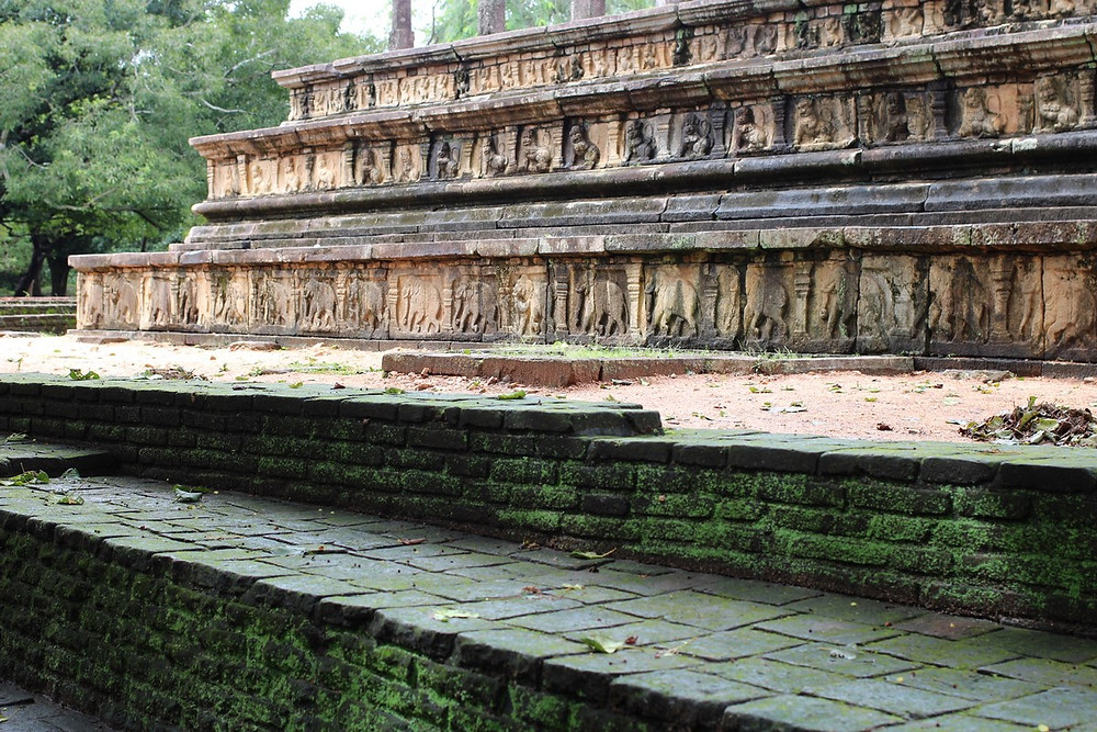 Polonnaruwa palais royal