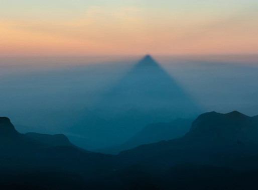 Le triangle du Pic d'Adam, Sri Lanka