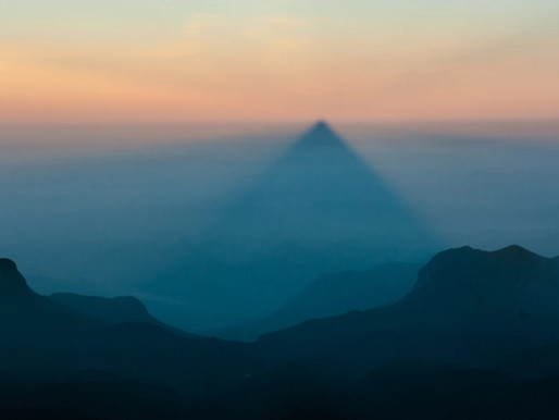 Le triangle du Pic d'Adam, Sri Lanka