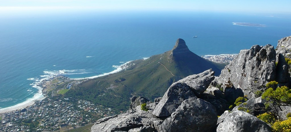 vue Table Mountain cape town