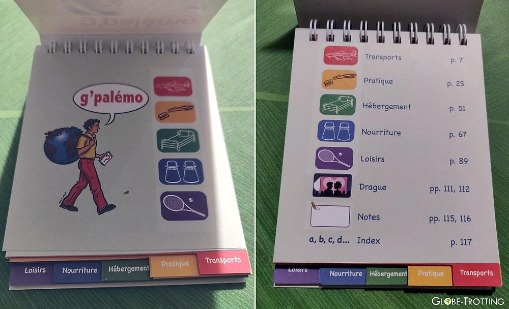 G Palemo guide pictogrammes voyages