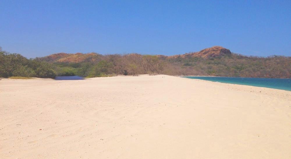 Brasilito Costa Rica plage déserte