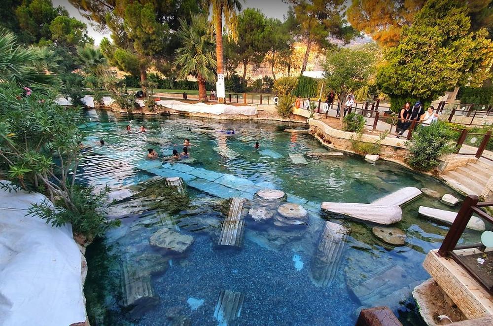 piscine de Cléopâtre