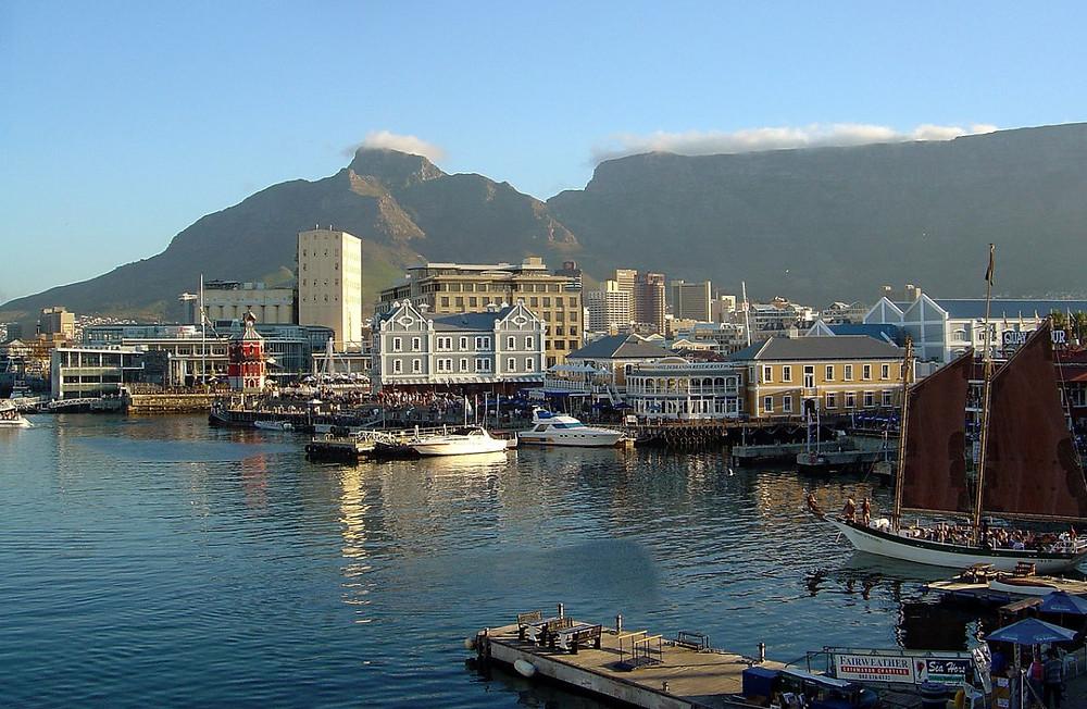 Water Front Cape Town Afrique du Sud