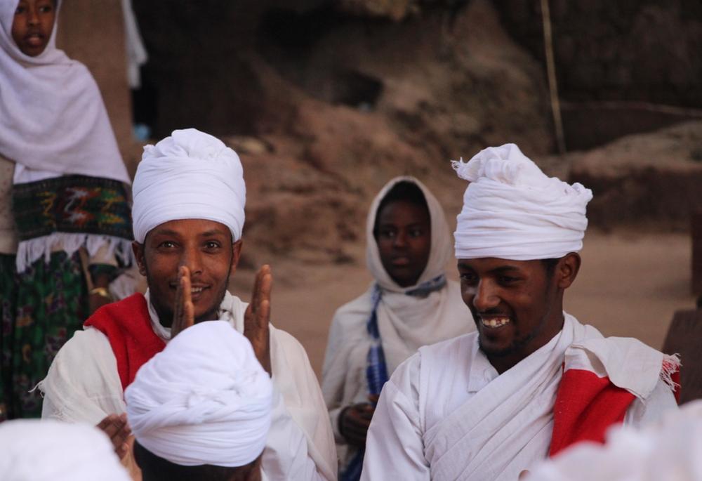 cérémonie dimanche Lalibela en Ethiopie