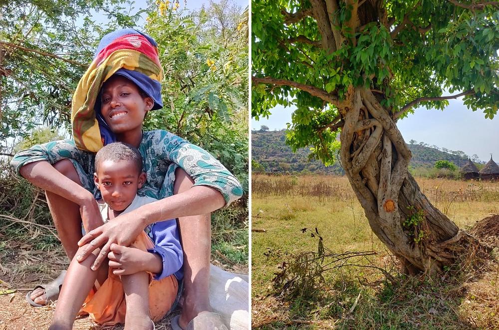 vers les chutes du Nil Bleu en Ethiopie