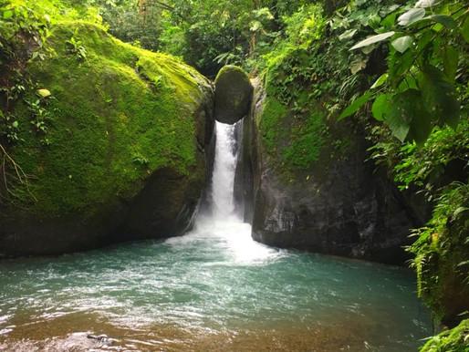 La Cascade El Pavón au Costa Rica