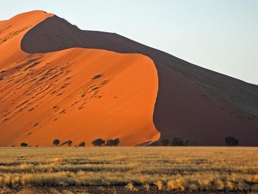 Les dunes de Sossusvlei en Namibie