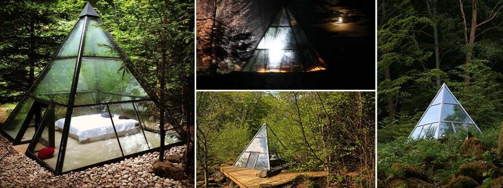 box Voyage 3 nuits insolites dans une pyramide transparente