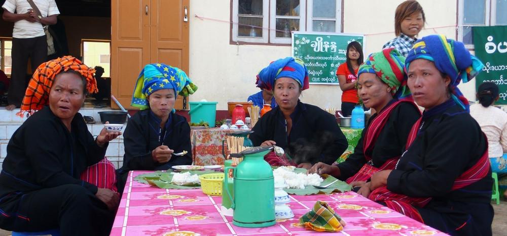 Lac Inlé femmes myanmar