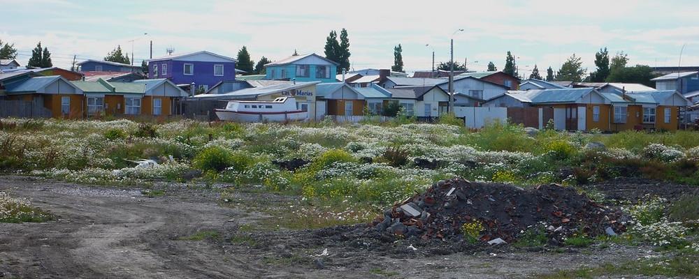 Puerto Natales village