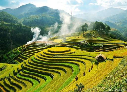 La Vallée de Muong Hoa au Viêt Nam