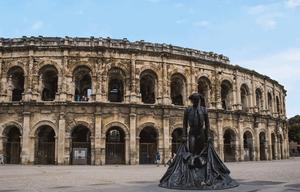 Arènes de Nîmes France patrimoine