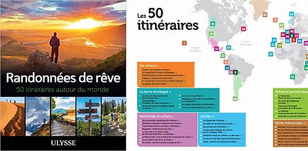 Cadeau randonnée Livre 50 itinéraires