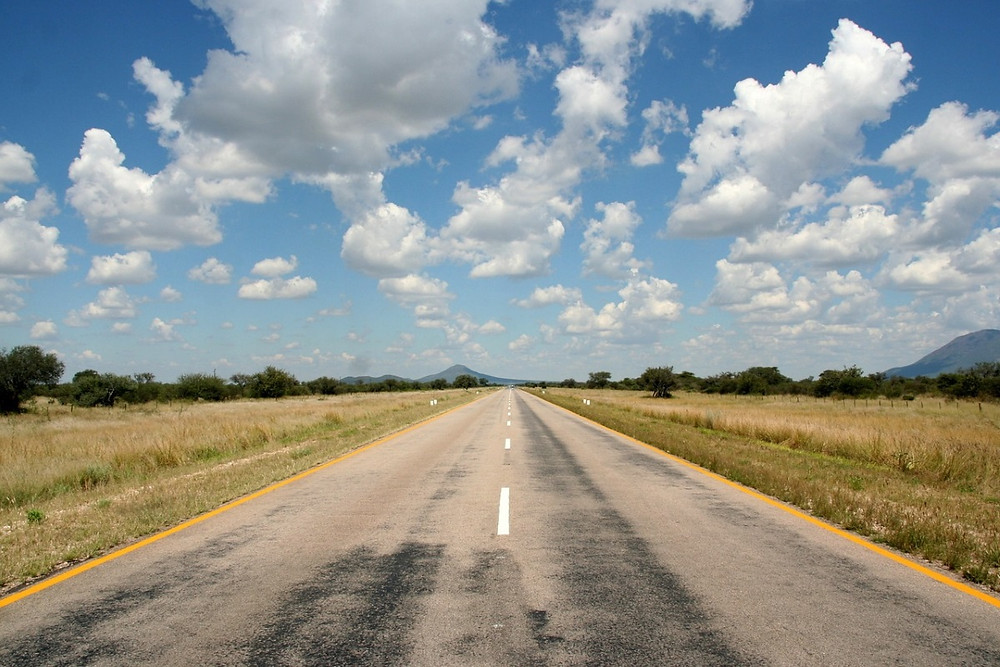 Rundu Grootfontein route