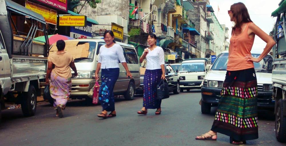 Visiter Yangon Birmanie