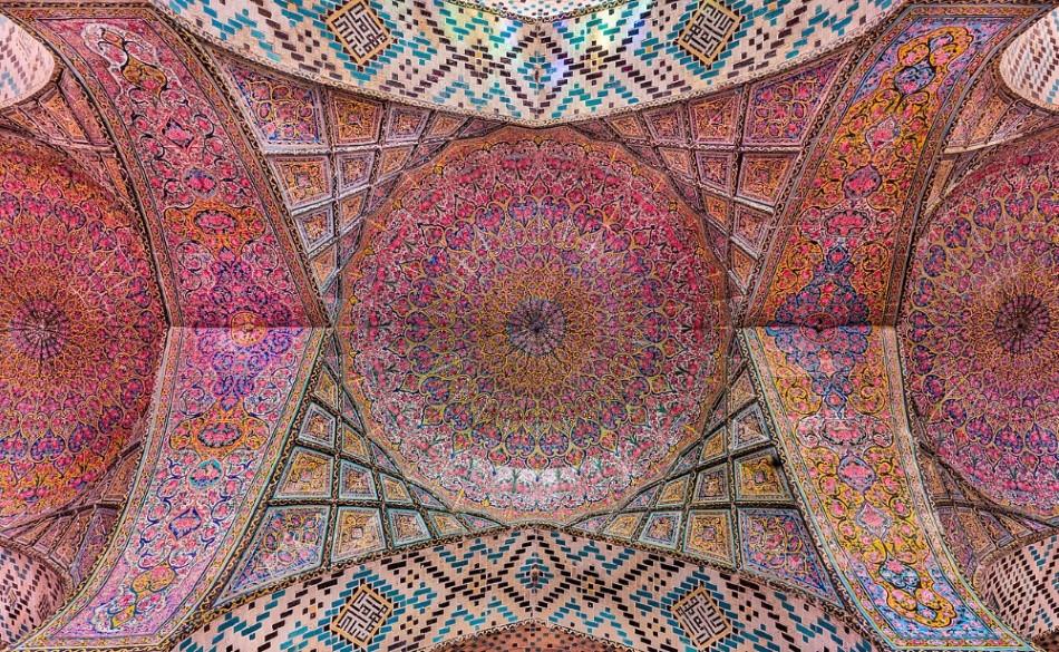 mosquée rose
