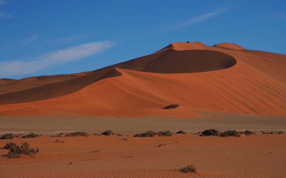 dunes de Sossusvlei Namibie