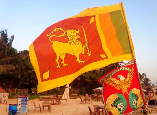 Mirissa au Sri Lanka, les pieds dans le sable...