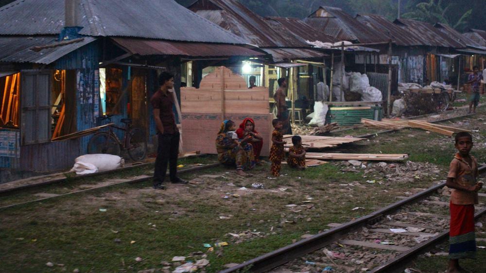 chemins de fer Bangladesh