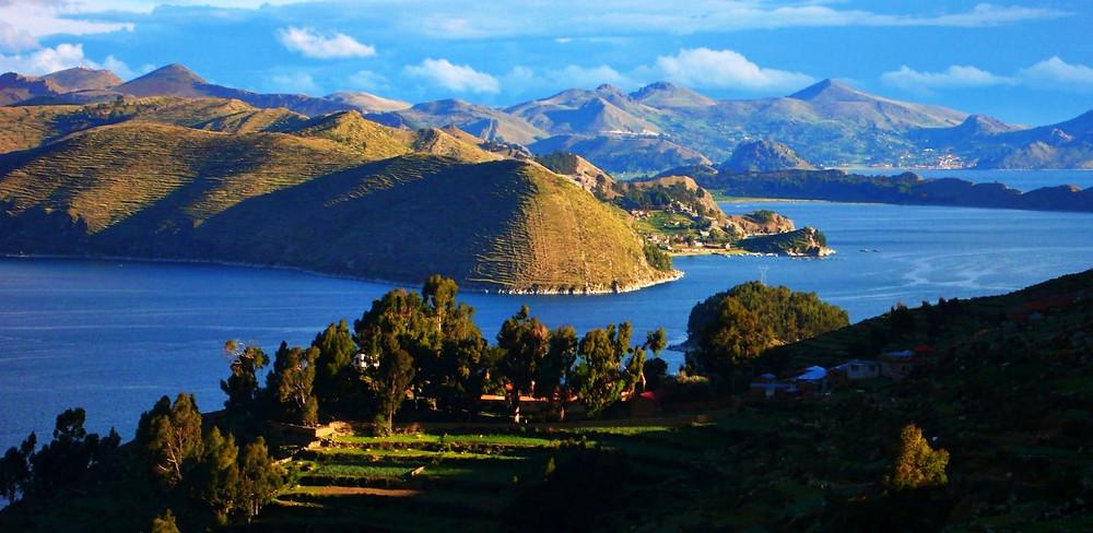 île du Soleil en Bolivie inca