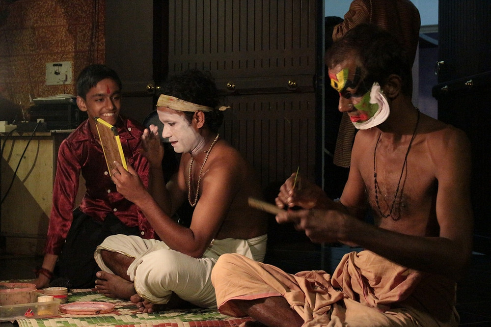spectacle de danse Kerala Kathakali Centre