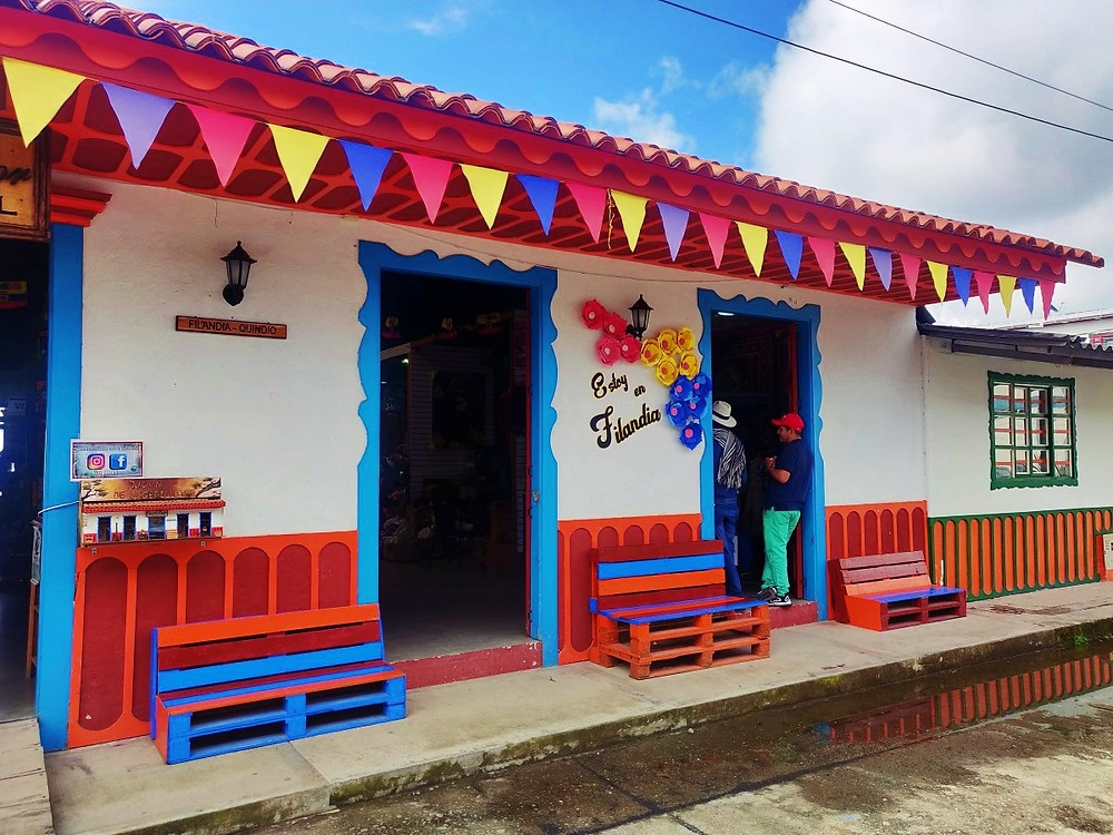 A voir Filandia Colombie