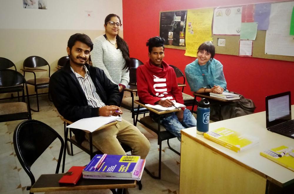 Dehradun en Inde cours d'anglais
