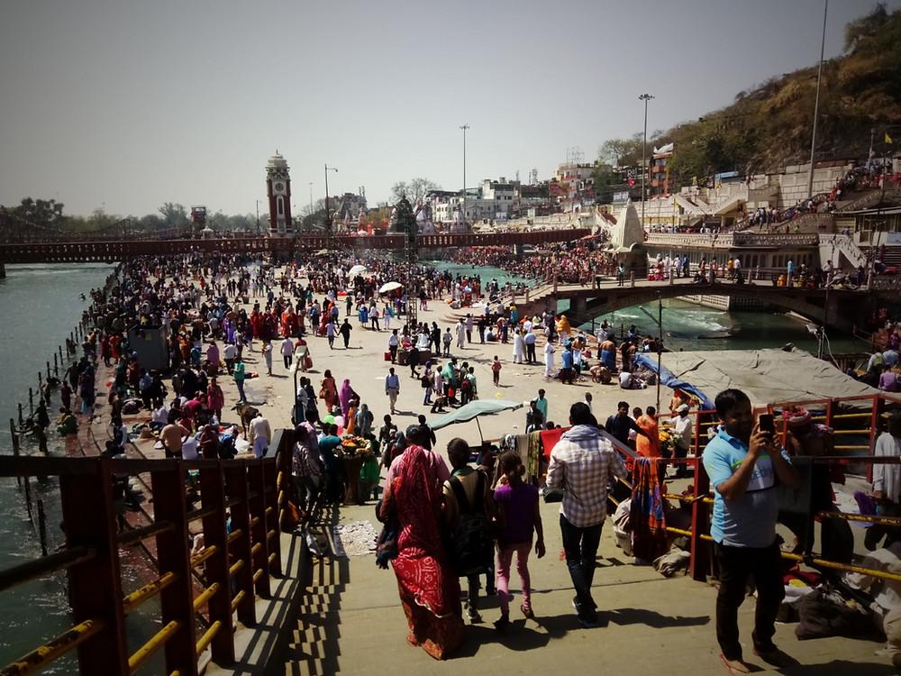 HARIDWAR foule Inde