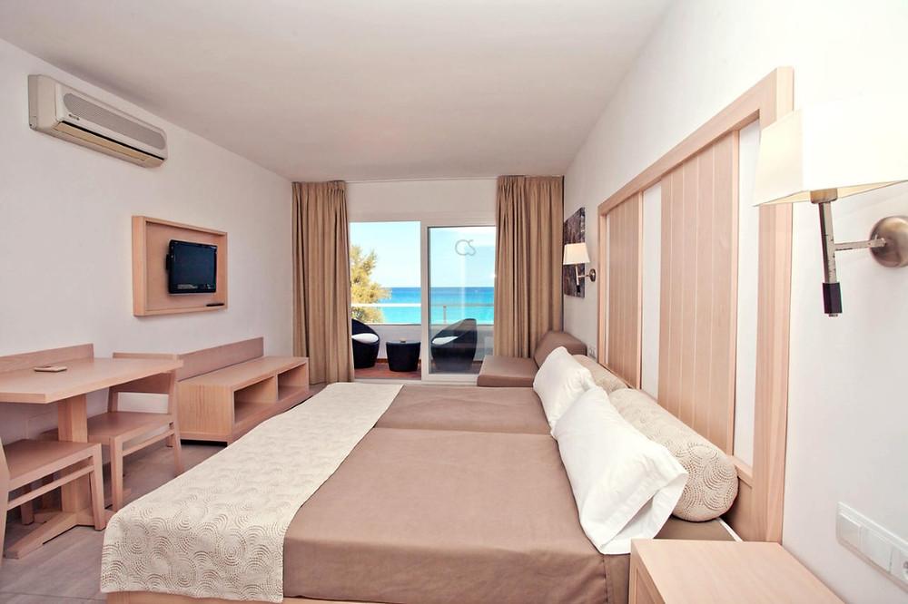 chambre avec vue sur mer hôtel de Formentera